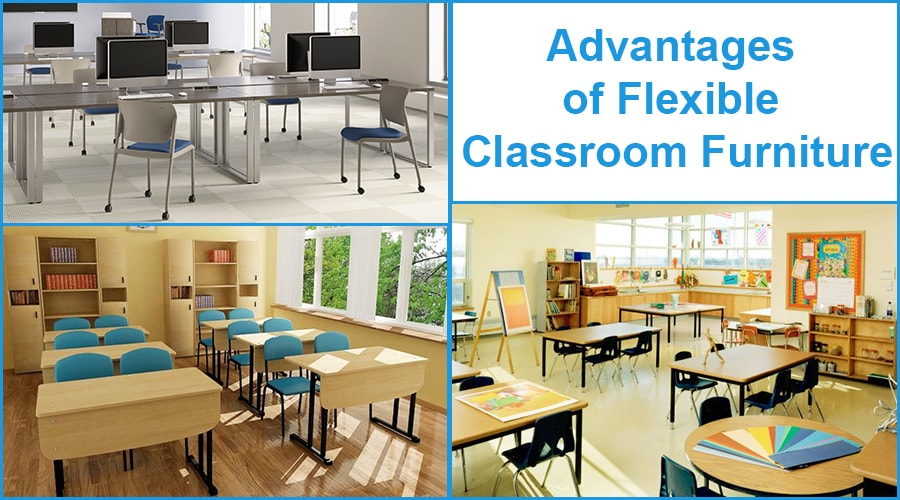 Advantages of Flexible Classroom Furniture