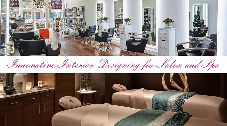 Creative Interior Designing For Spa and Salon